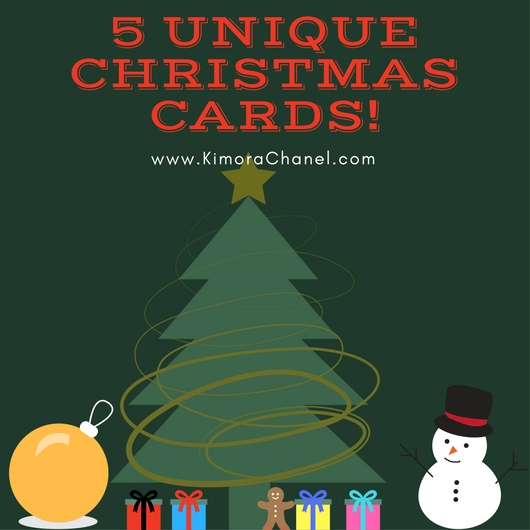 printable christmas cards 5 unique christmas cards